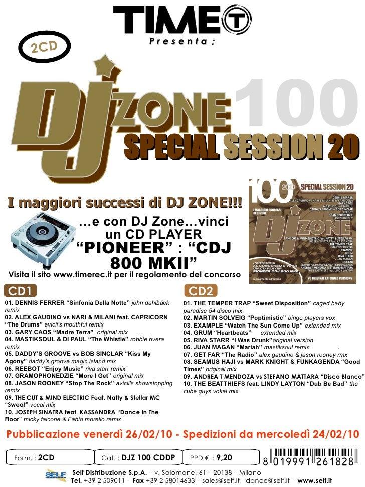 Presenta:         2CD                                                   100                                       SPECIAL ...