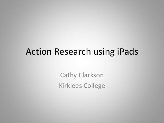 Cathy Clarkson, Kirklees College,  Mobiletech classipads