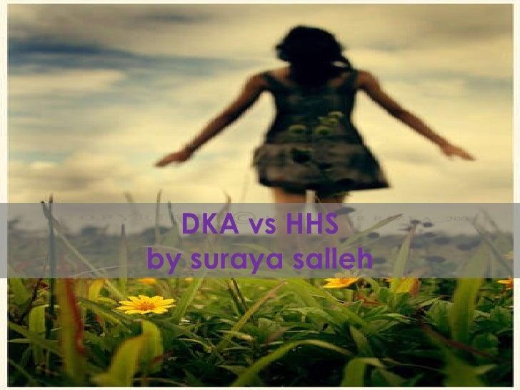 DKA vs HHS by suraya salleh