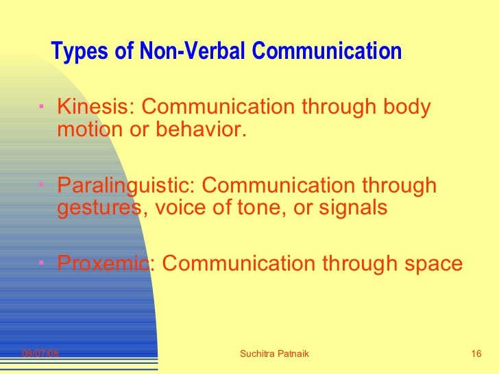 nonverbal communication essay questions