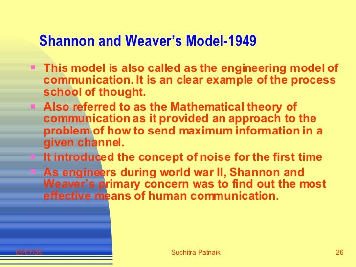 information communication theories and models List of theories covered in a first look at communication theory (7th edition) theories covered in the 7th edition elaboration likelihood model.