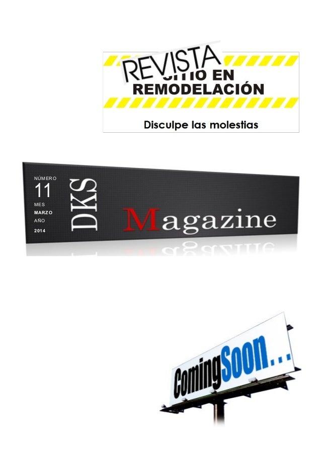 DKSMagazine Edicion Marzo 2014