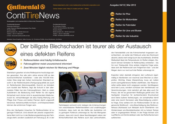 Mediendatenbank unter: www.mediacenter.continental-corporation.com   Ausgabe 04/12 | Mai 2012                             ...