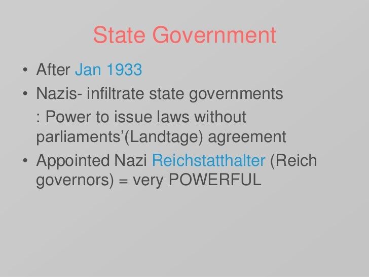 hitler and his consolidation of power Hitlers consolidation of power, in 1933 the build up to ww2 and hitler's reign over the nazi party, and the reichstag's a youtube video, with a powerpoint and an worksheet.