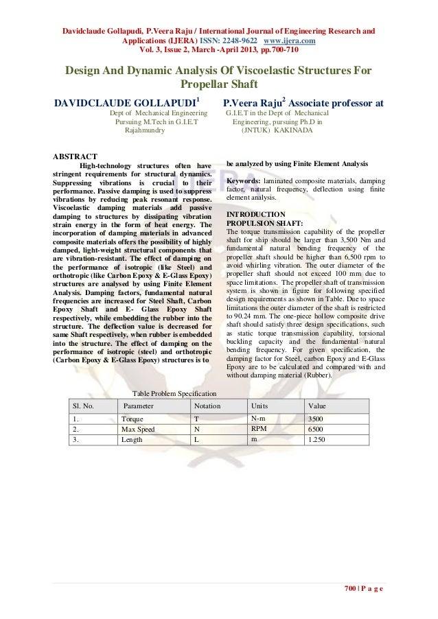 Davidclaude Gollapudi, P.Veera Raju / International Journal of Engineering Research and                   Applications (IJ...