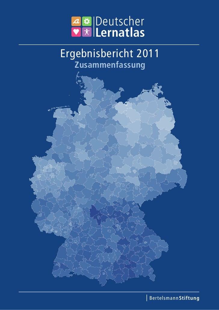 Ergebnisbericht 2011  Zusammenfassung