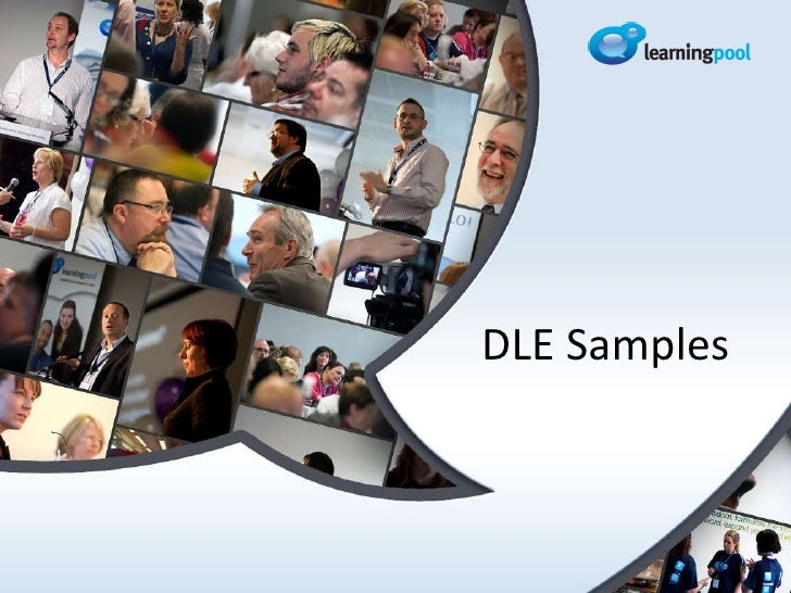 Learning Pool Webinar: DLE Examples