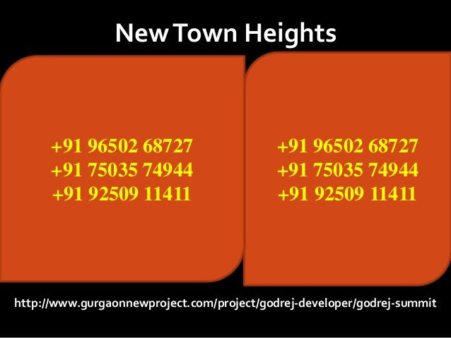New Town Heights Gurgaon