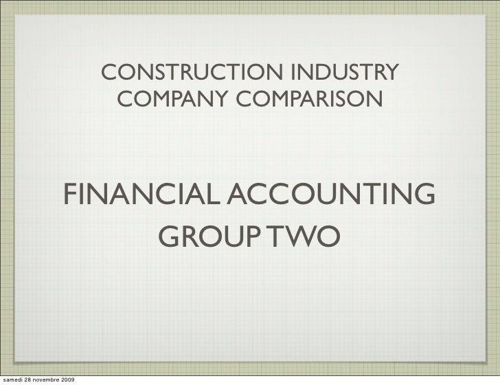 DLF Unitech Comparative Financial Analysis