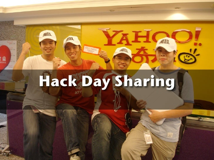 Hack Day Sharing at D-Link