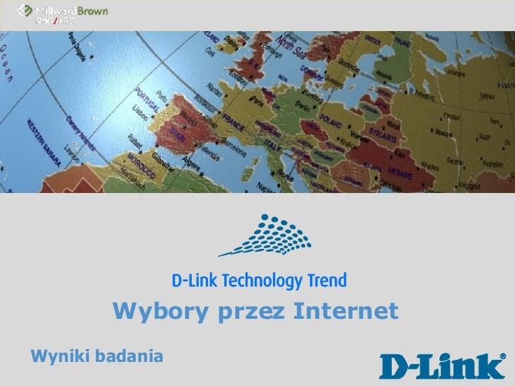 Wybory przez Internet Wyniki badania