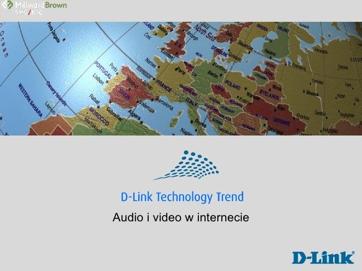 Audio i video w internecie