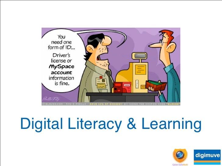 Digital Literacy  Learning
