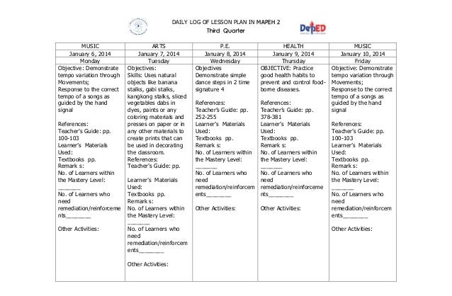 mapeh lesson plan Lesson plan in physical education grade 8 aldren felipe  best in teaching demo major in mapeh (mseuf  landichocapeli dante 11,172 views 6:33 balancing lesson plan for elementary physical.