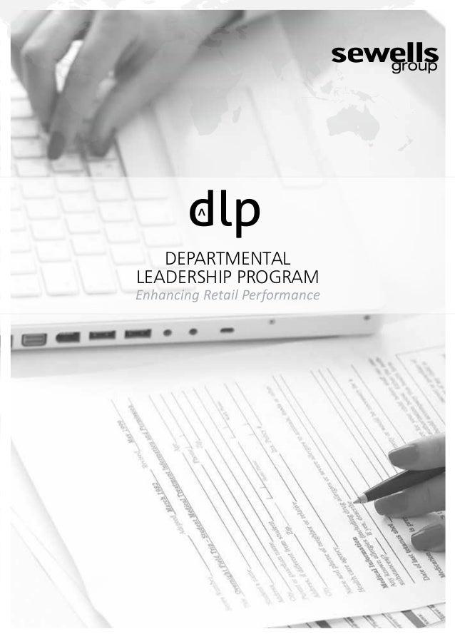 Departmental Leadership Program
