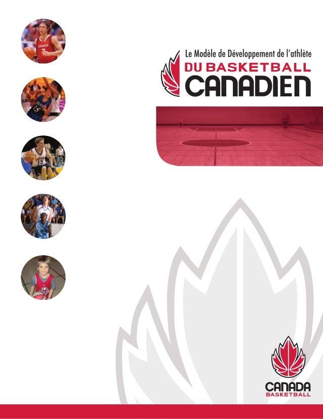 Nous remercions le Gouvernement du Canada qui, via Sport Canada, une division du Département d'Héritage Canada, a ap- port...