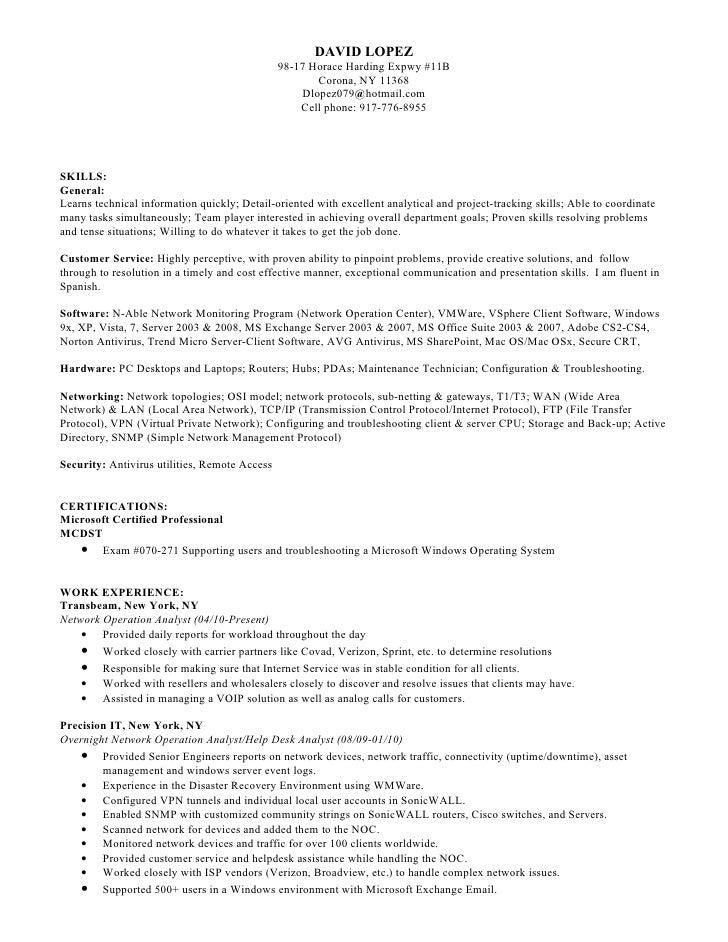 resume name samples
