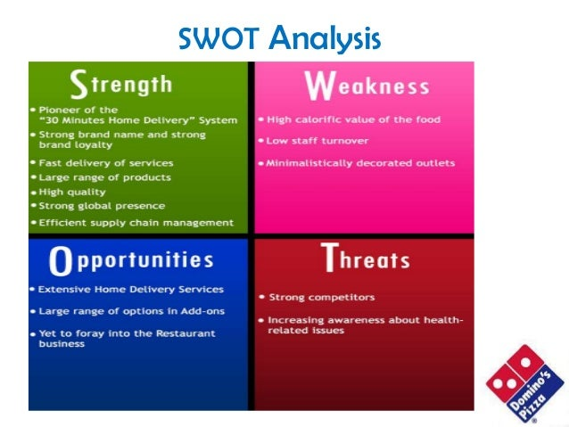 dominos pizza swot analysis