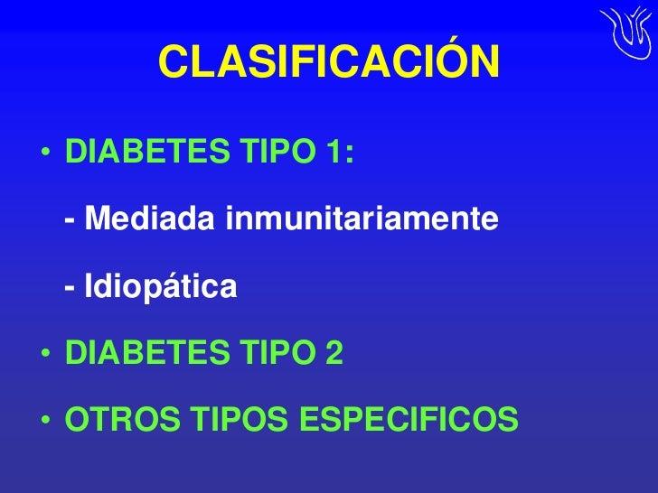 Diabetes, Definición, clasificación y epidemiología.