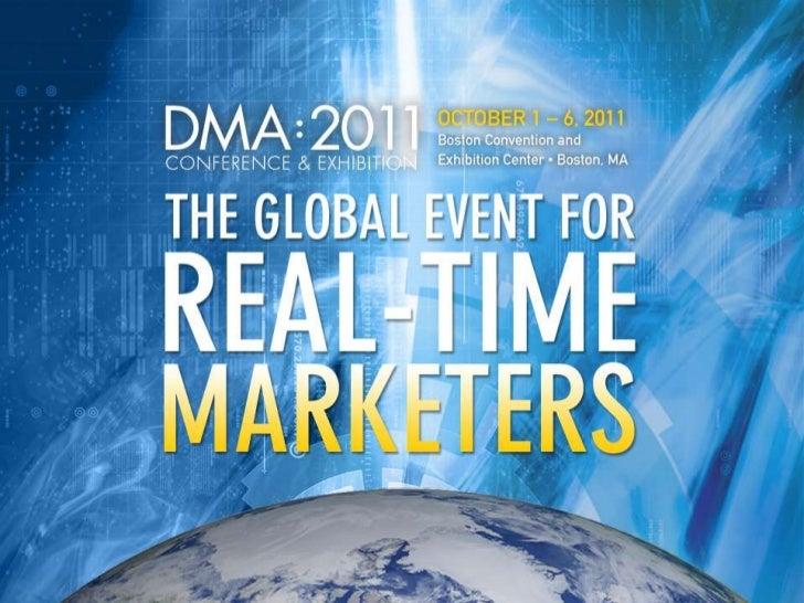 Social Silobuster: Data-Driven Marketers - Brian Killen DMA2011