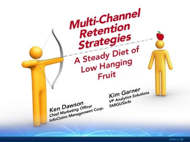 Multichannel Retention Strategies: A Steady Diet of Low-Hanging Fruit