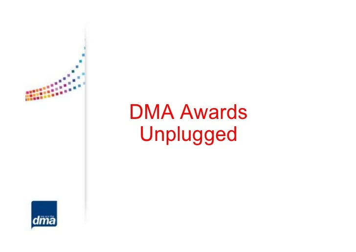 Dma awards unplugged 2012