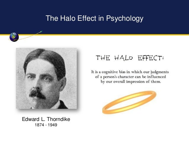 Halo Effect (SOCIAL PSYCHOLOGY) - IResearchNet