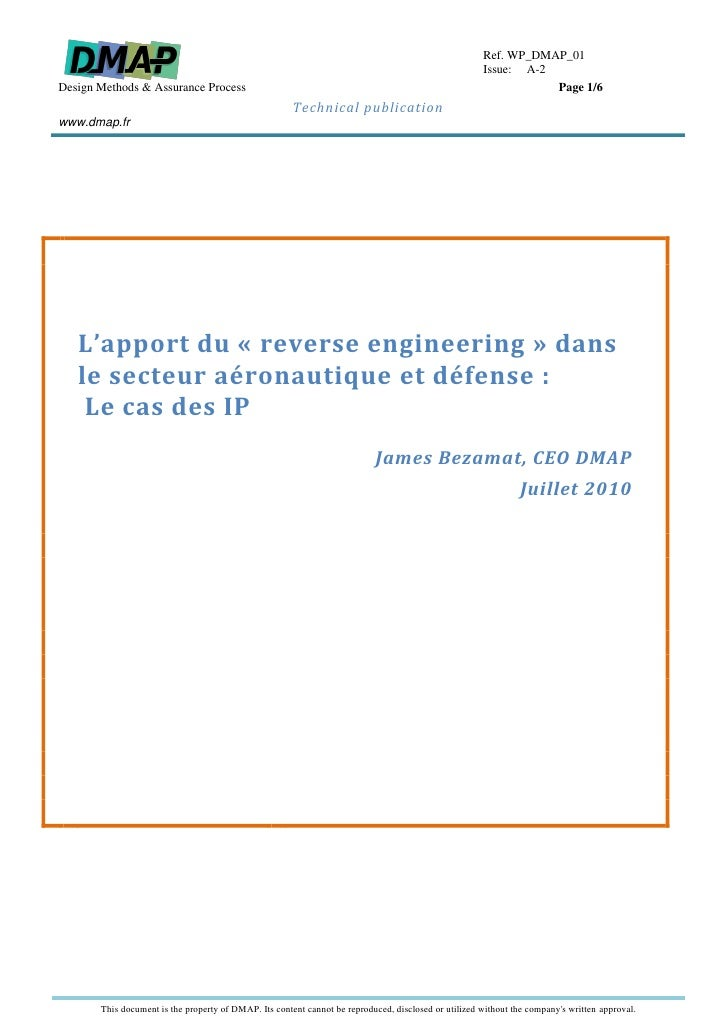 Dmap Ip Do254 White Paper