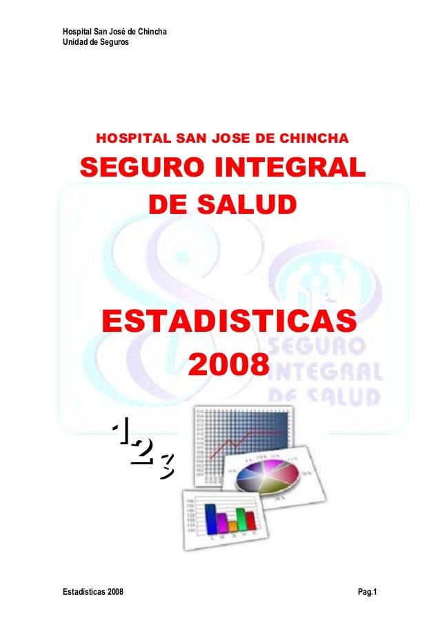 ESTADISTICAS 2008 HSJ