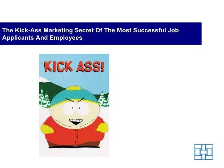 Marketing Secret of Successful Job Applicants