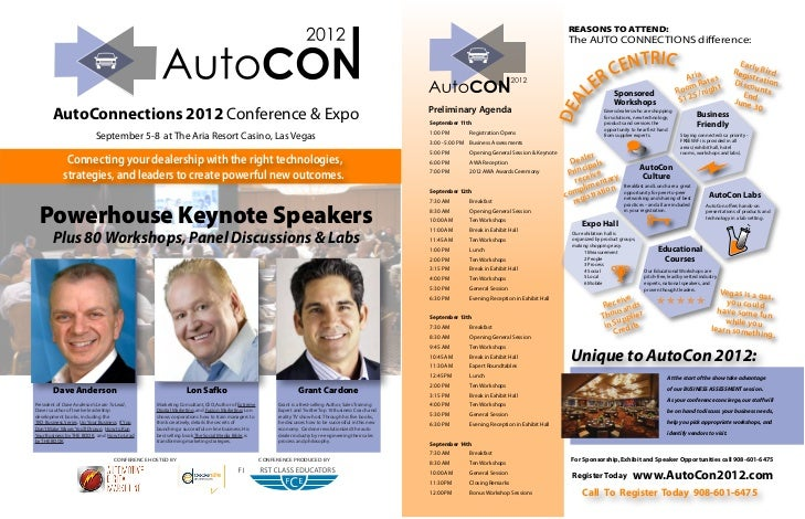 AutoConnections 2012 Conference and Exposition