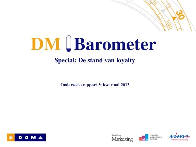 DM Barometer Special - De stand van loyalty