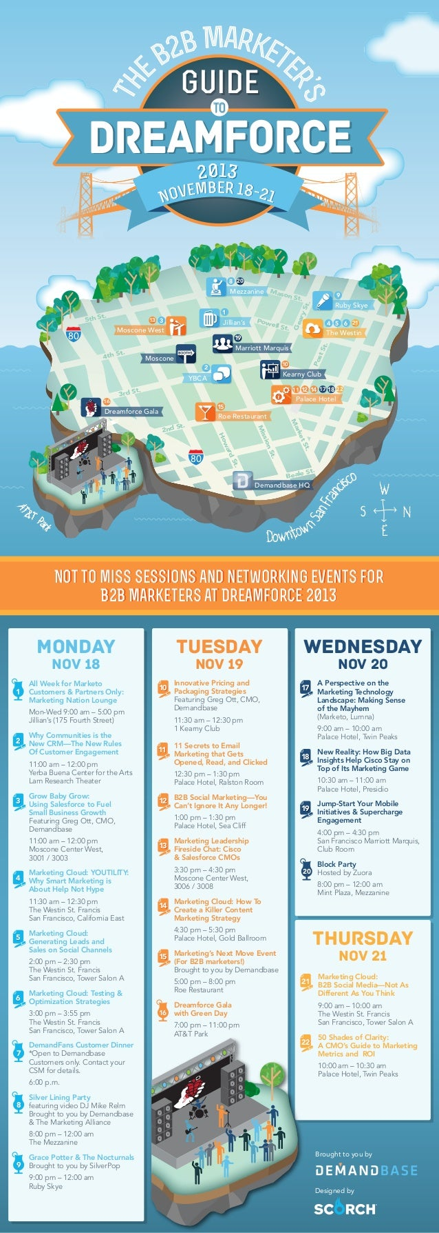 Infographic: A Marketer's Guide To Dreamforce