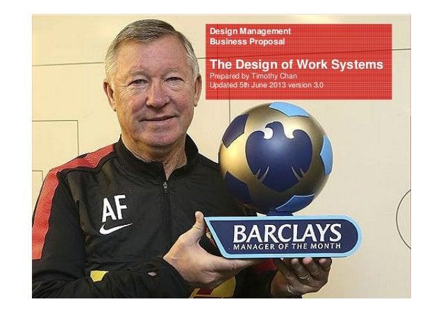 The Work Systems Designer
