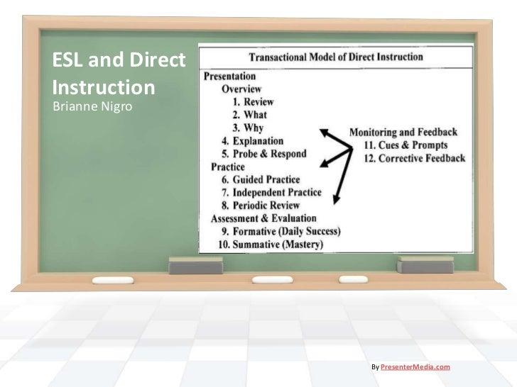 ESL and DirectInstruction<br />Brianne Nigro<br />By PresenterMedia.com<br />