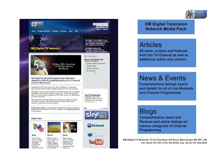 DM Digital TV Media Pack