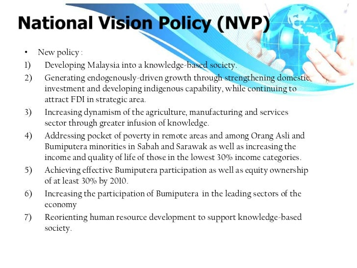 national vision policy Vision, mission, policy, strategy and program of national occupational safety and health (osh) by the national occupational safety and health council which was.