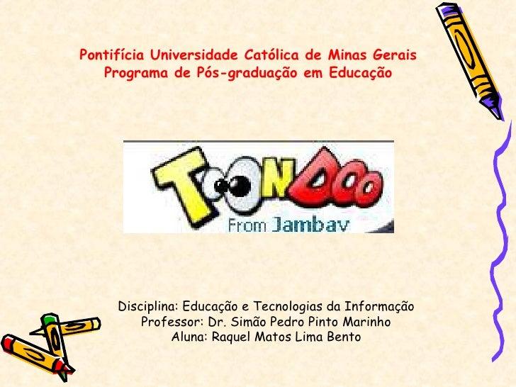 Toondoo - Tutorial
