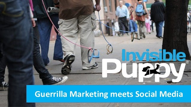 Guerrilla Marketing meets Social Media