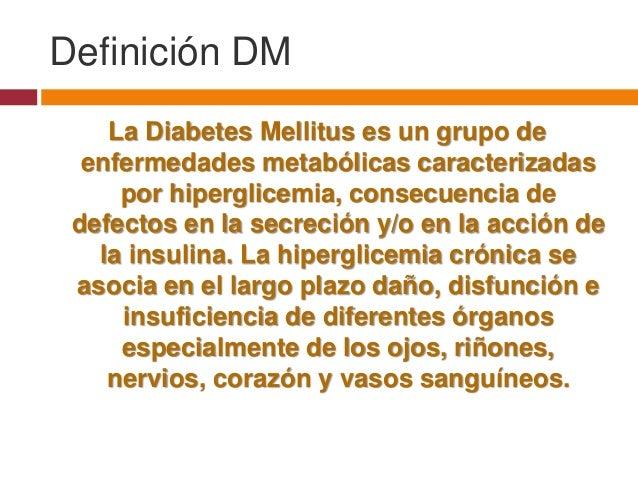 Diabetes mellitus for Definicion de beta
