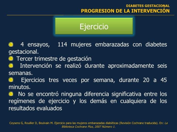 Diabetes Gestacional, Management