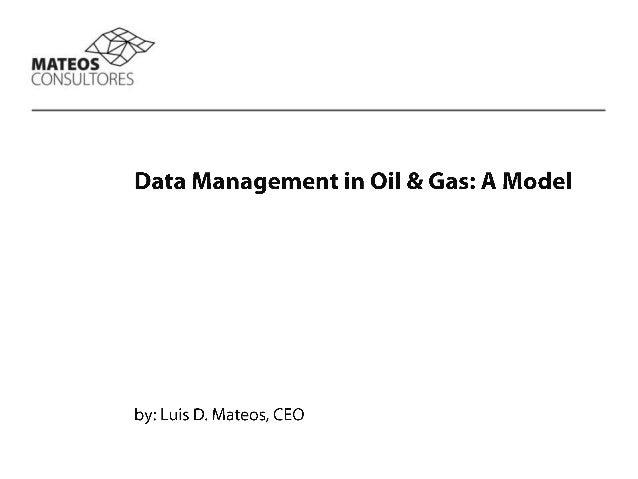 Data Management Model