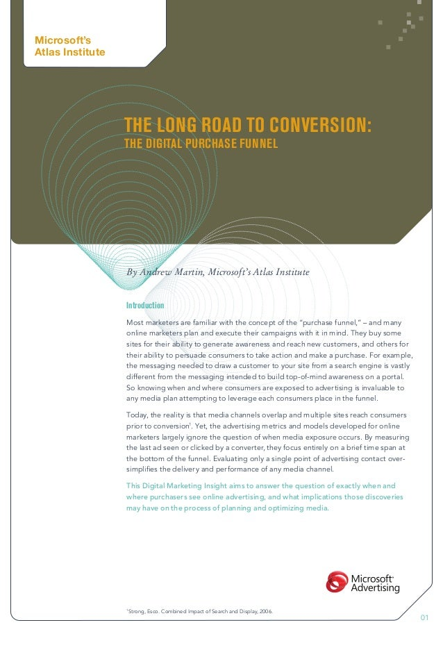 The Long Road to Conversion