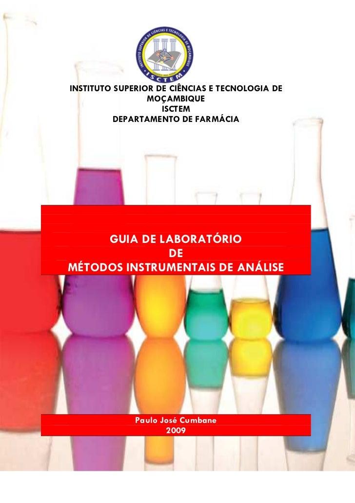 INSTITUTO SUPERIOR DE CIÊNCIAS E TECNOLOGIA DE                  MOÇAMBIQUE                     ISCTEM          DEPARTAMENT...
