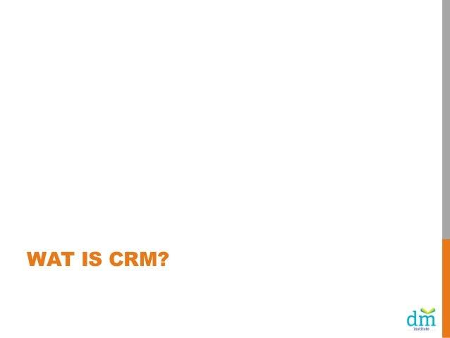 Haalbare CRM-acties