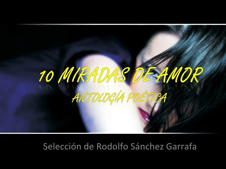 Selección de Rodolfo Sánchez Garrafa