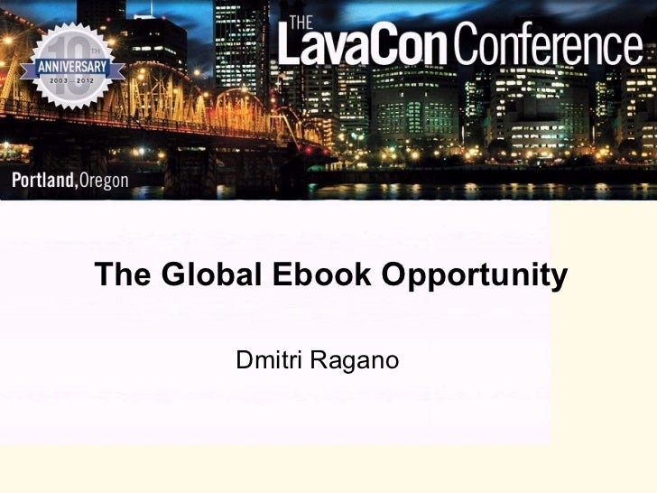 Dmitri ragano global ebook opportunity
