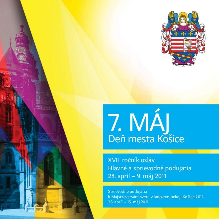 Dni mesta Košice 2011 - bulletin