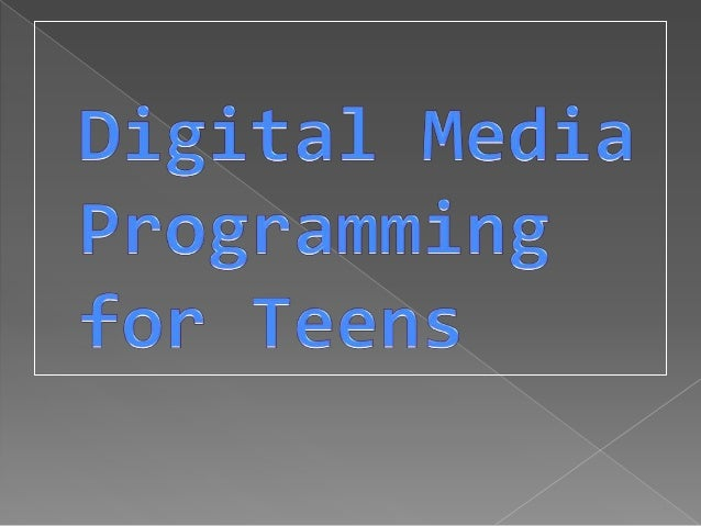 Dml101 teen programming