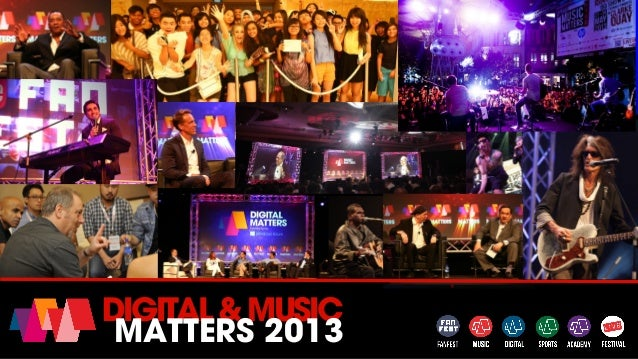 DIGITAL&MUSIC MATTERS 2013